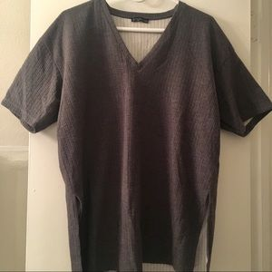Zara Trafaluc Grey Blouse